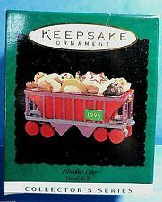 1990 Hallmark miniature NOEL R.R Coal Car Collector/'s Series #2 train car