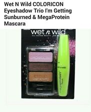 Wet n Wild Coloricon Trio and Megaprotein Mascara