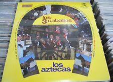 LOS AZTECAS LOS 3 CABALLOS MEXICAN LP STILL SEALED RANCHERO / BOLERO