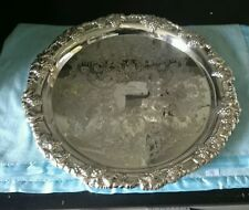 Australian Antique Silver Trays