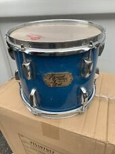"""More details for free p&p. a pearl 10x8"""" tom. undrilled aqua blue  finish. 10"""" t1082021"""