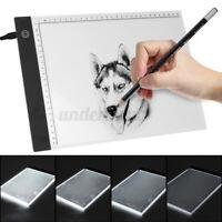 A4 USB LED Artist Tattoo Stencil Board Light Box Tracing Drawing Graphic Tablet