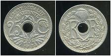 25 centimes  lindauer   1929  ( TTB )