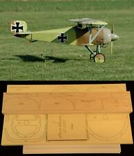 "77"" wingspan Siemens Schuckert D3 R/c Plane short kit/semi kit and plans"
