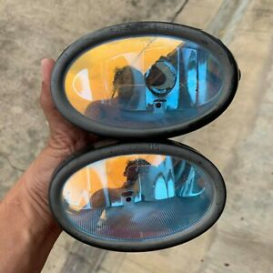 JDM Blue Rainbow HONDA ACURA BUMPER FOG Light Genuine Stanley P1240LR P3726