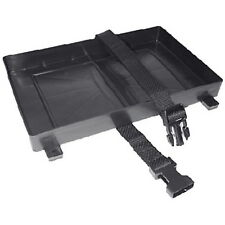 Boat Battery Tray with Hold Down Strap for Standard 29 and 31 Series Batteries