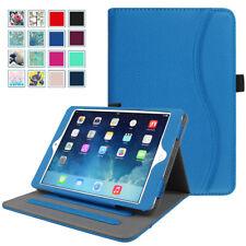 For iPad mini 3 mini 2 mini 1 Multi-Angle Viewing Folio Stand Cover w/ Pocket