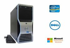 Dell Precision T5500 Intel Xeon 12 Core 32GB RAM 2TB HD NVIDIA Quadro 4K Win 10