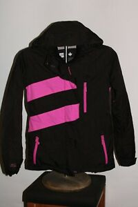 PWDR ROOM Canada Girls Large L insulated hooded Snowboard/snow Jacket