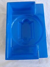 Monopoly Deluxe 1985 BOX INSERT Carousel Rack Holder Replacement Blue Plastic
