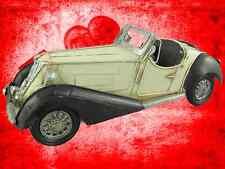 Auto Mobile Oldie Eisen Deko L.32x12x13cm limitiert Vintage Sammlung Geschenk