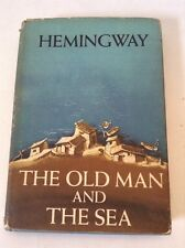 Ernest Hemingway The Old Man And The Sea HCDJ Pulitzer & Nobel Prize
