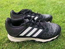 New listing Adidas FlexCloud Field Hockey Shoes (Black / White) Size UK 6.5 (Mens / Unisex)