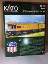 Kato N Scale Excursion Train 7 Car Set Empty Box/Container FEF-3