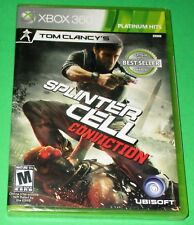 Tom Clancy's Splinter Cell: Conviction  Xbox 360 *New! *Sealed! *Free Shipping!