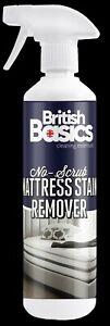 British Basics 500ml Mattress Stain Remover Bed Blood Urine Bedroom Cleaner
