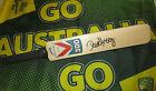 Dave Hussey (Victoria/Australia) signed Slazenger V300 Mini Cricket Bat + COA