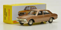 Atlas 1452 Dinky toys 1:43 PEUGEOT 504  Alloy car model