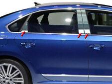 Fits VW Passat 2012-2017 QAA Stainless Chrome Polished Pillar Posts 6PCS PP12676