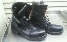 Cesare Paciotti Men 42960 Black Leather Boots SIZE  9