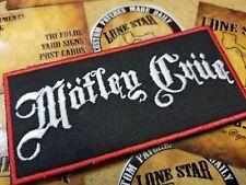 Motley Crue patch
