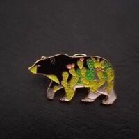 Shape Kids Gift Denim Jacket Collar Pin Badge Enamel Brooch Fashion Jewelry
