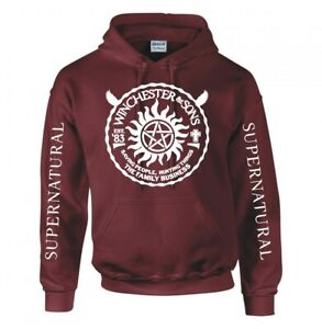 """SUPERNATURAL """"WINCHESTER & SONS"""" HOODIE"""