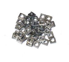 50 Meccano Part 37a Square Nut Zinc Original