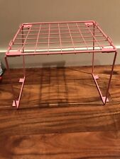 Pink Square Locker Shelf. Used but in excellent Condition. Free Shipping.