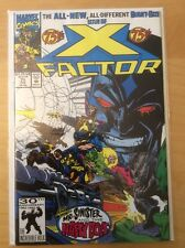 X FACTOR 75, NM (9.2 - 9.4), 1ST PRINT, MR SINISTER, 1ST APP NASTY BOYS