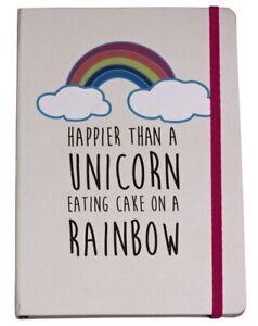 Rainbow Unicorn Notebook Journal Diary