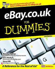 eBay.co.uk For Dummies by Marsha Collier, Steve Hill, Jane Hoskyn (Paperback, 2…
