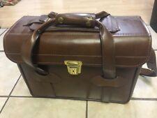 Vintage Rare En Garde EG6 Genuine Hand Waxed Cowhide Leather Camera Bag USA