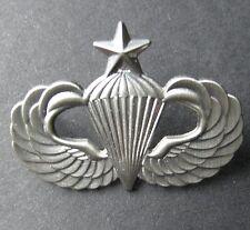PARATROOPER PARA SENIOR JUMP WINGS LAPEL PIN BADGE 1.25 INCHES US ARMY