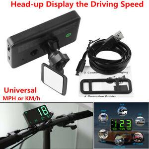 Digital Car Motorcycle GPS Speedometer Speed Display Kit KM/h MPH For Bikes DC5V