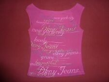 DKNY JEANS Women's Hot Pink Top Size S