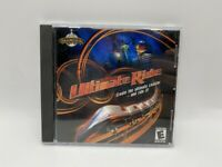 ULTIMATE RIDE PC CD-ROM GAME CREATE THE ULTIMATE COASTER