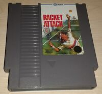 Racket Attack Tennis Nintendo NES Vintage classic original retro game cartridge