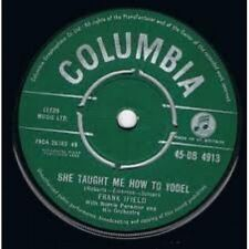 """7"""" 45RPM She Taught Me How To Yodel/Lovesick Blues by Frank Ifield from Columbia"""