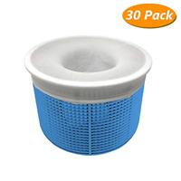 30 Pack Pool Skimmer Socks Filter Saver Socks Net Skimmer Basket Mesh Screen
