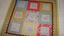 BABY'S DAY Complete Set Embroidery Blocks From Waltzing With Bears 38x38""