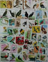 BIRDS, beautiful stamp collection of 500 different stamps, Must See!! (lot#DP)