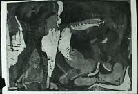 Rudolf Rothe  Surreale Komposition Radierung Auflage 3/30 Nachlass signiert