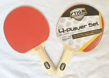 Stiga Ping Pong Paddle New In Factory Wrapper Master Series Set of 2