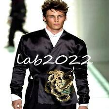 Gucci Tom Ford Men's Embroidered Kimono Jacket..... Rare & NEW