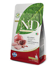 Farmina N&D Grain Free kitten Pollo e melograno per gatti KG.1,5