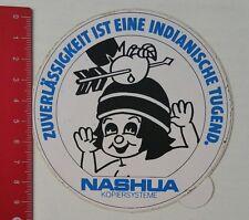 Pegatina/sticker: nashua kopiersysteme-fiabilidad (18021727)