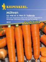 Kiepenkerl - Möhren * Lange rote Stumpfe ohne Herz / Vollenda * 3019 haltbar