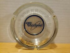 Whirlpool Home Appliance Advertising Glass Ashtray Vintage