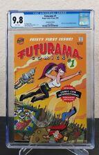Futurama #1 SDCC Variant Fry Bender CGC 9.8 NM+ MT high grade